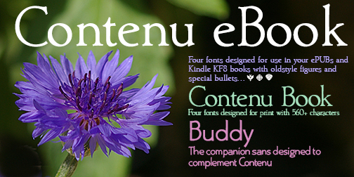 Contenu-Buddy Hackberry font packages