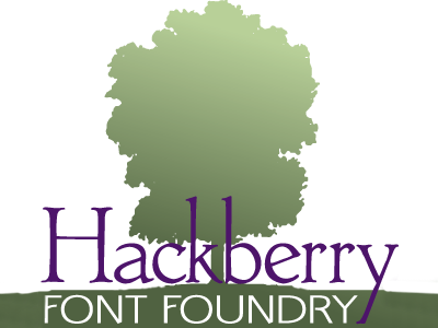 The Hackberry Font Foundry